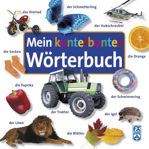 9783897823242: Mein kunterbuntes Wörterbuch