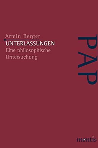 Unterlassungen: Armin Berger