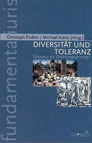 9783897854888: Diversität und Toleranz