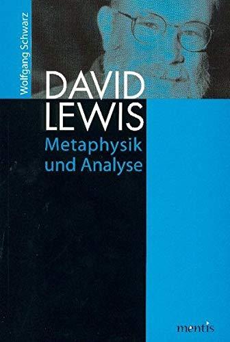 9783897856172: David Lewis: Metaphysik und Analyse