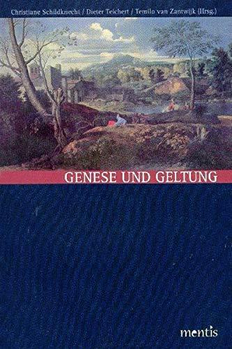 9783897856257: Genese und Geltung