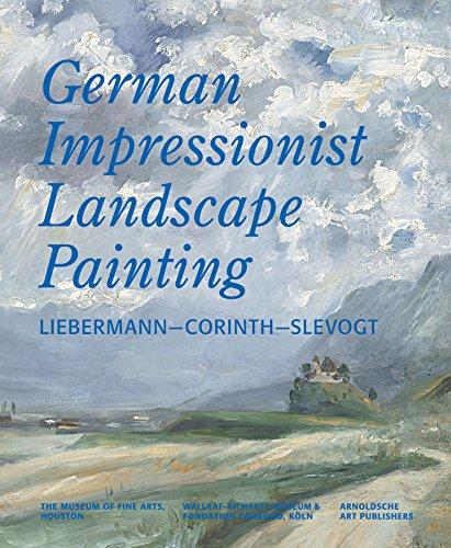 German Impressionist Landscape Painting: Liebermann - Corinth: Czymmek, Gotz