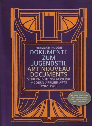 Dokumente zum Jugendstil. Art Nouveau documents. Modernes Kunstgewerbe. Modern applied arts. 1902...