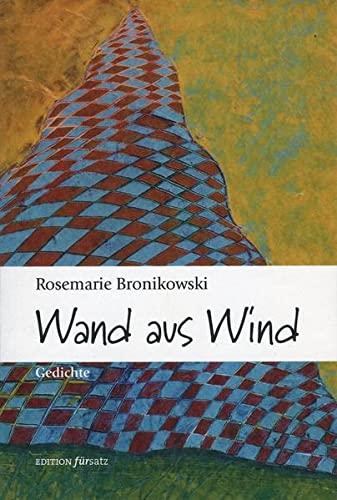 9783897941236: Wand aus Wind