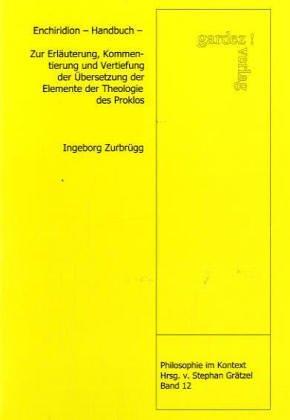 9783897961609: Enchiridion - Handbuch