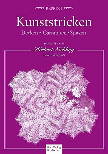 9783897982697: Kunststricken Decken Garnituren Spitzen