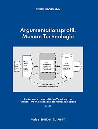 Argumentationsprofil: Memon-Technologie: Arnim Bechmann