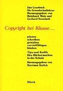 9783898030090: Copyright bei Klasse...
