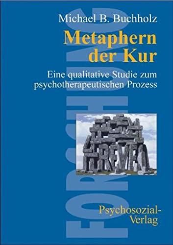 9783898062312: Metaphern der Kur: Eine qualitative Studie zum psychotherapeutischen Prozess