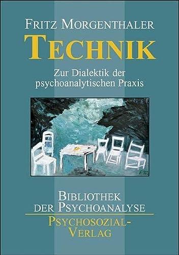 9783898064149: Technik: Zur Dialektik der psychoanalytischen Praxis