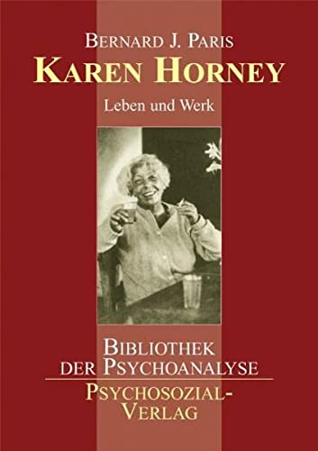 Karen Horney (9783898064613) by Paris, Bernard J.