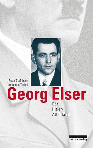 9783898090889: Georg Elser: Der Hitler-Attent�ter