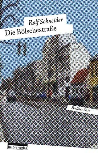 9783898091206: Die B�lschestra�e