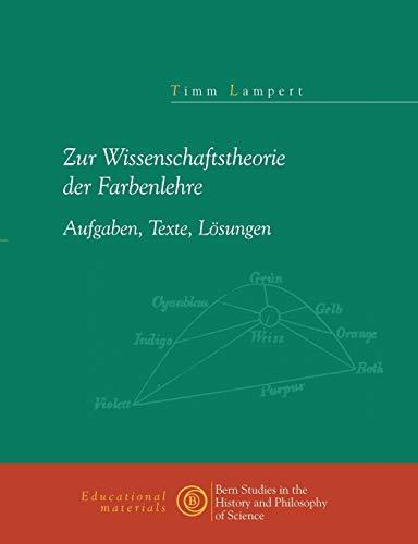 Zur Wissenschaftstheorie der Farblehre (German Edition): Lampert, Timm
