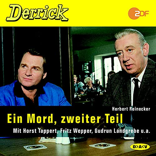9783898133081: Derrick Ein Mord;zweiter