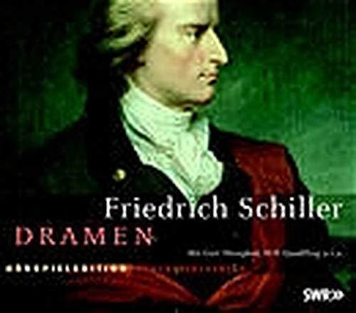 9783898134361: Dramen. 10 CDs: Kabale und Liebe / Der Geisterseher / Don Carlos / Maria Stuart / Wilhelm Tell / Demetrius