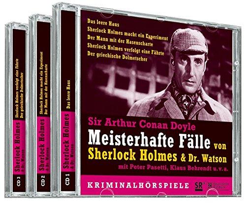 Meisterhafte Fälle von Sherlock Holmes und Dr. Watson: 5 Kriminalhörspiele