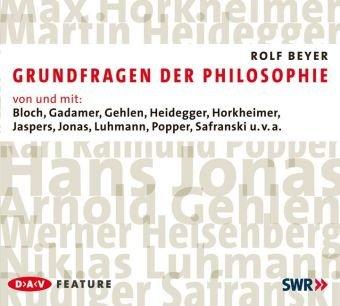 Grundfragen der Philosophie: Von und mit Bloch,: Rolf Beyer