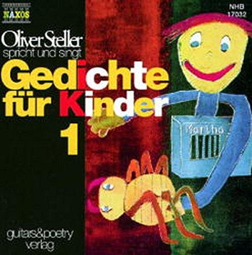 9783898160384: Gedichte für Kinder, Audio-CDs, Tl.1