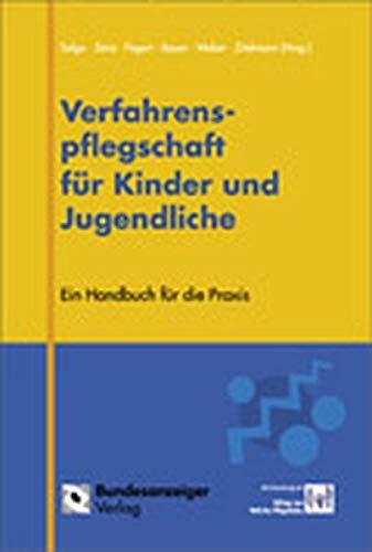 9783898170406: Verfahrenspflegschaft für Kinder und Jugendliche: Ein Handbuch für die Praxis