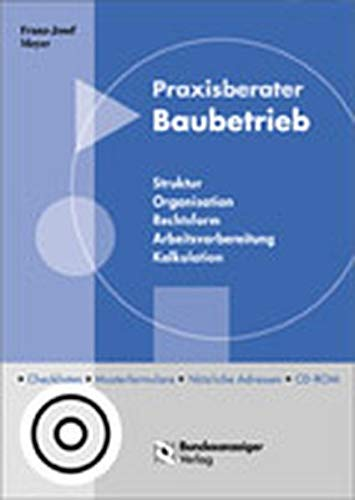 9783898171427: Praxisberater Baubetrieb