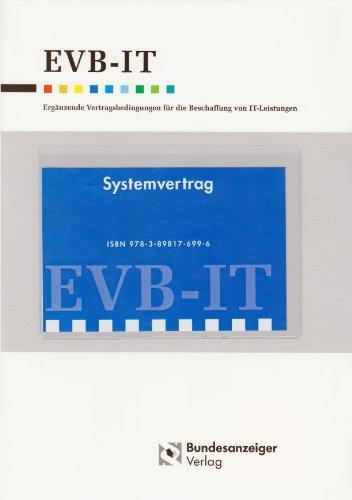 9783898176996: EVB-IT Systemvertrag