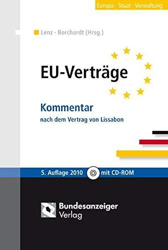 9783898177023: EU-Verträge: Kommentar nach dem Vertrag von Lissabon