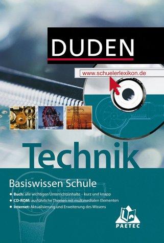 9783898180405: Basiswissen Schule Technik mit CD-ROM