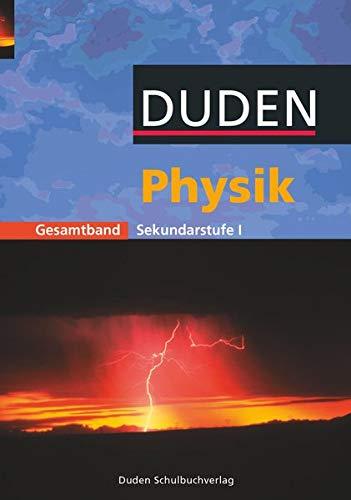 9783898183253: Physik Gesamtband. Schülerbuch. Sekundarstufe 1.