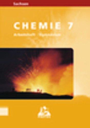 9783898185141: Chemie Arbeitsheft. Klasse 7. Sachsen. Level Gymnasium.