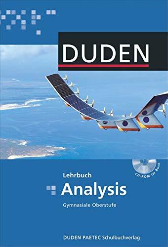 9783898186742: Analysis Gymnasiale Oberstufe. Lehrbuch. Berlin, Brandenburg, Mecklenburg-Vorpommern: Duden