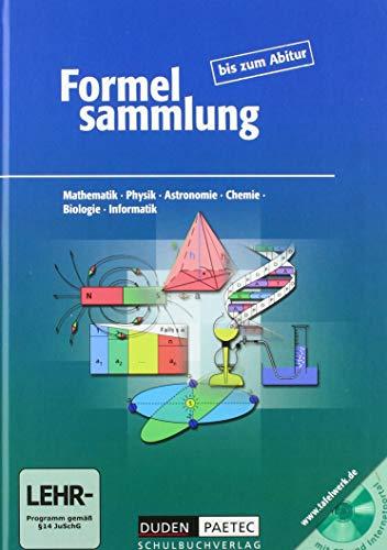 9783898187008: Formelsammlung bis zum Abitur.