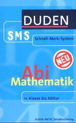 9783898187749: SMS Mathematik Abi
