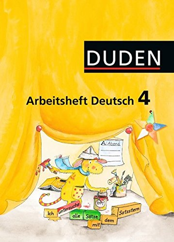 9783898188579: Duden Deutsch 4 Arbeitsheft. Schulausgangsschrift.