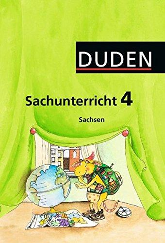 9783898188890: Duden Sachunterricht 4. Schuljahr Sachsen. Arbeitsheft mit Beileger