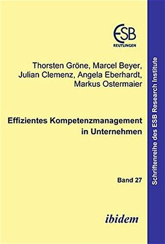 9783898214001: Effizientes Kompetenzmanagement in Unternehmen;