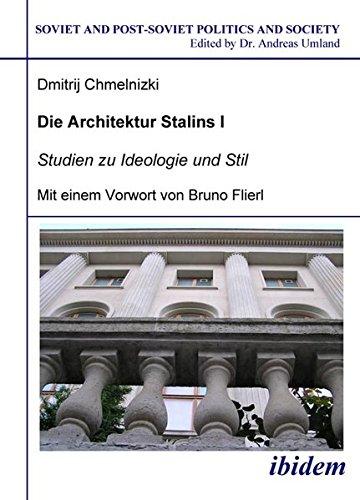 9783898215152: Die Architektur Stalins. Bd. 1: Studien zu Ideologie und Stil. Bd. 2: Bilddokumentation