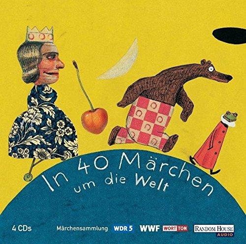 9783898303118: WDR Märchenmarathon - In 40 Märchen um die Welt: Hörspiel: Märchensammlung. Aus der Märchenschatztruhe von WDR 5