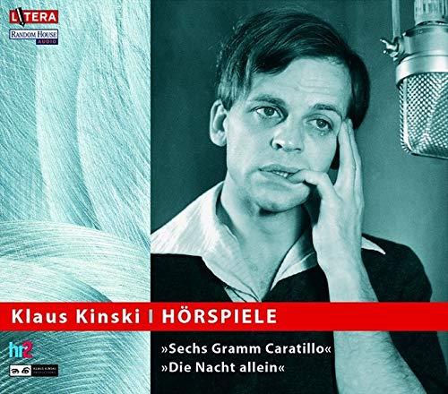 9783898303231: Klaus Kinski - Hörspiele. CD. Sechs Gramm Caratillo. Die Nacht allein.