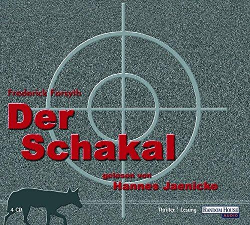 9783898307628: Der Schakal [Tontraeger] Thriller, Lesung