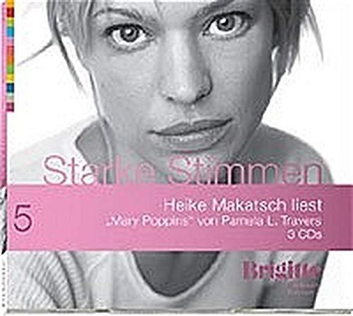 Mary Poppins. Starke Stimmen. Brigitte Hörbuch-Edition, 3 CDs - Travers, Pamela L