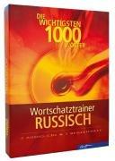 9783898313575: Wortschatztrainer Russisch [Tontr�ger] : die wichtigsten 1000 W�rter; 2 Audio-CDs & 1 Begleitheft