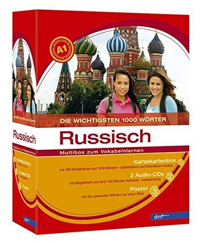 9783898314091: Russisch Multibox zum Vokabelnlernen Niveau A1