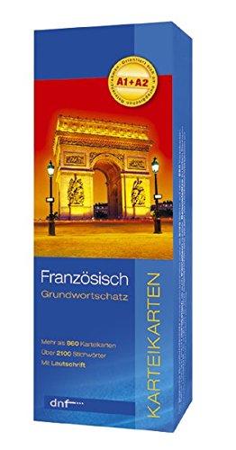9783898314534: Grundwortschatz Französisch. Karteikarten