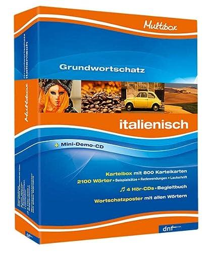 9783898315814: Multibox XXL Grundwortschatz XXL, Italienisch