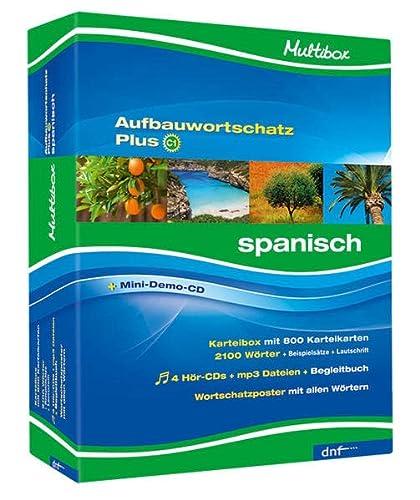 9783898316927: Multibox Aufbauwortschatz Plus C1. Spanisch: 802 Karteikarten, 4 CDs, Begleitheft, Poster