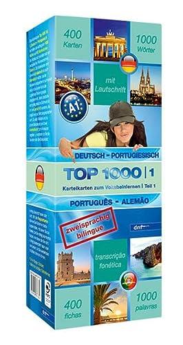 9783898317658: Top 1000 Teil 1. Deutsch-Portugiesisch / Portugiesisch-Deutsch