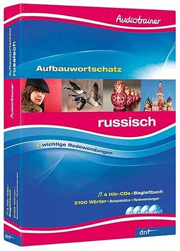 9783898319096: Audiotrainer Aufbauwortschatz Russisch