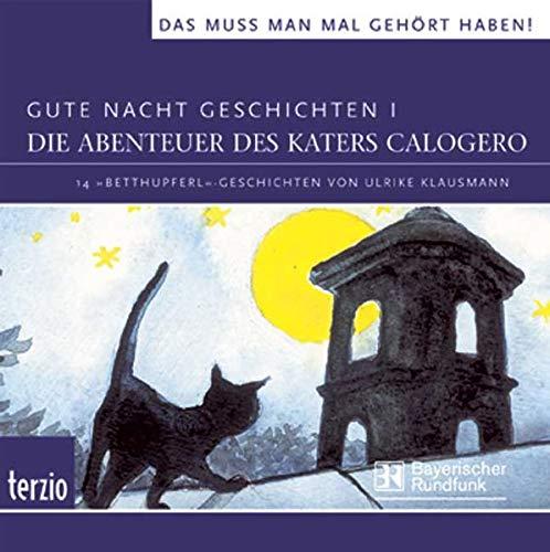 9783898354448: Gute Nacht Geschichten - Die Abenteuer des Katers Calogero