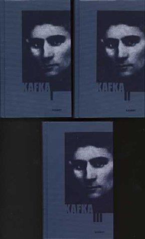 9783898361606: Kafka Werke (3 volume) (Romane und Erzählungen in drei Bänden)
